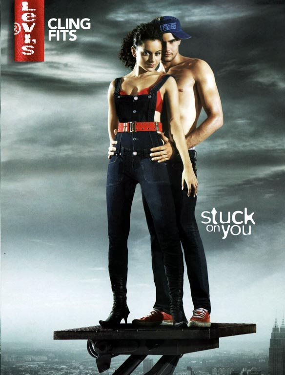 Kangana Ranaut (Stuck on You) Heat Up Levis - XciteFun.net