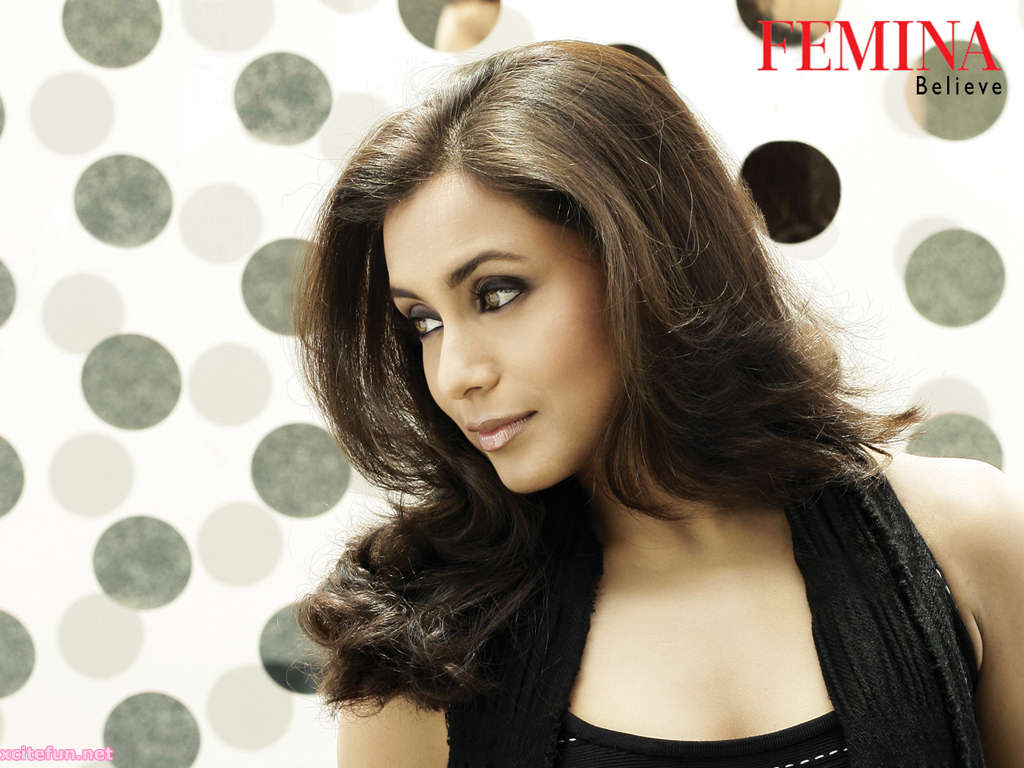 Rani Mukherjee Femina Believe Photo Shots Shines The BollyWood Beauties