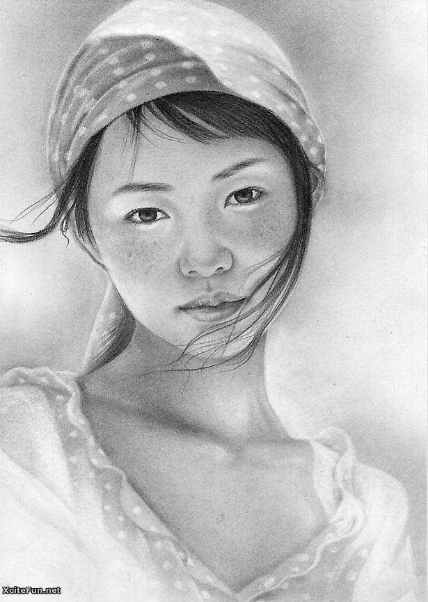 8 pencil art