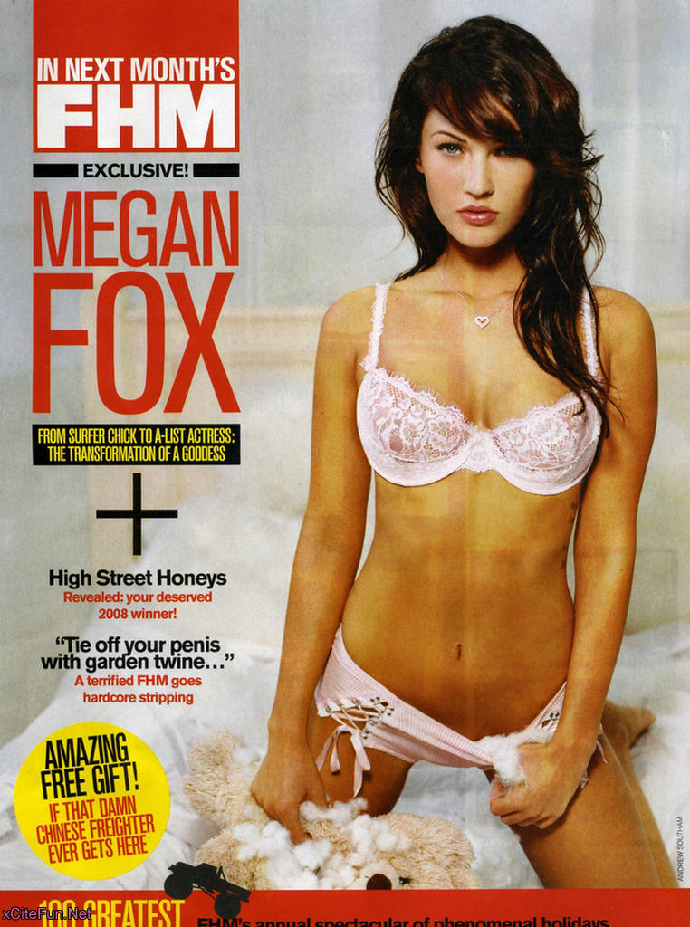 Megan Fox FHM: Hottest Woman in the World - Sexy