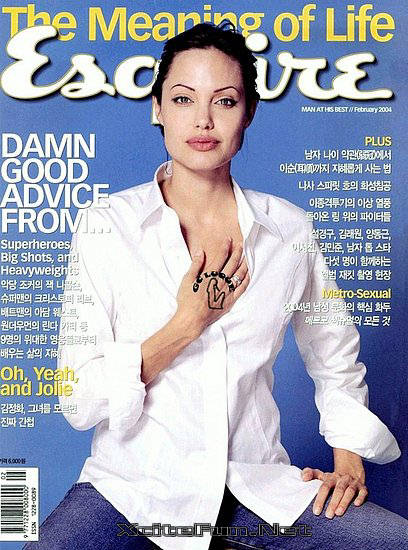 Jolie Magazine November 2017 Issue: Angelina Jolie Biggest Magazine Cover Page Collection