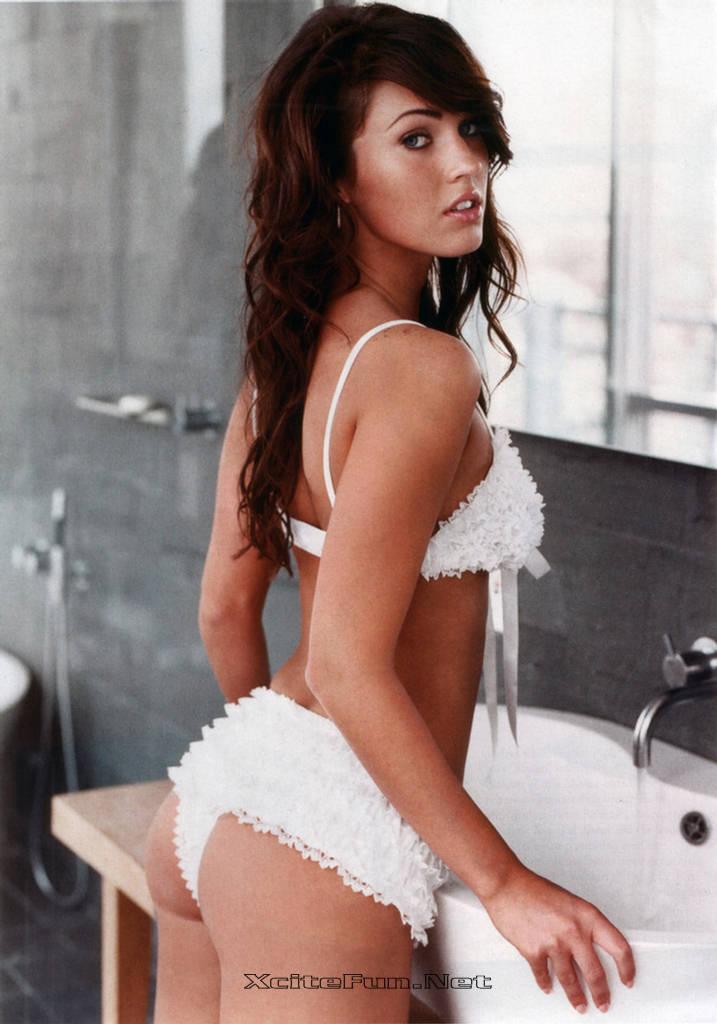 include either Megan Fox old school photos, or new photoshoot becasue
