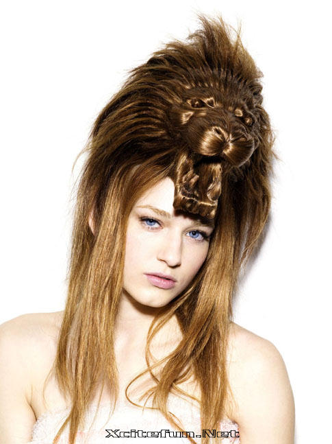 Girls Hairstyle / Hair design with different animals