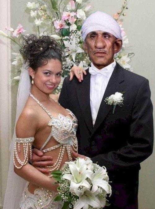 Terrible Wedding Couple
