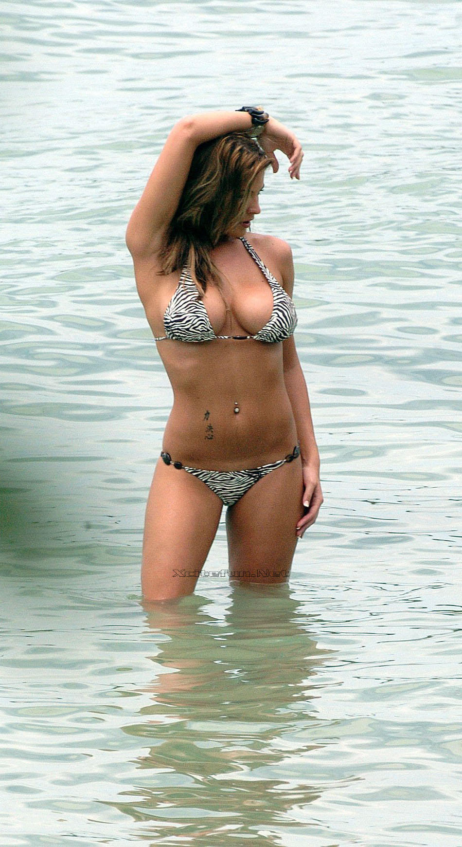 Gemma Atkinson First Calendar Girl Of 2009 Caribbean