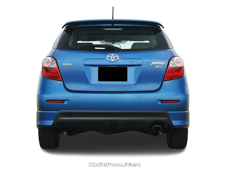 Toyota Matrix S AWD 2009 Greater Exterior Coupe Like Styling