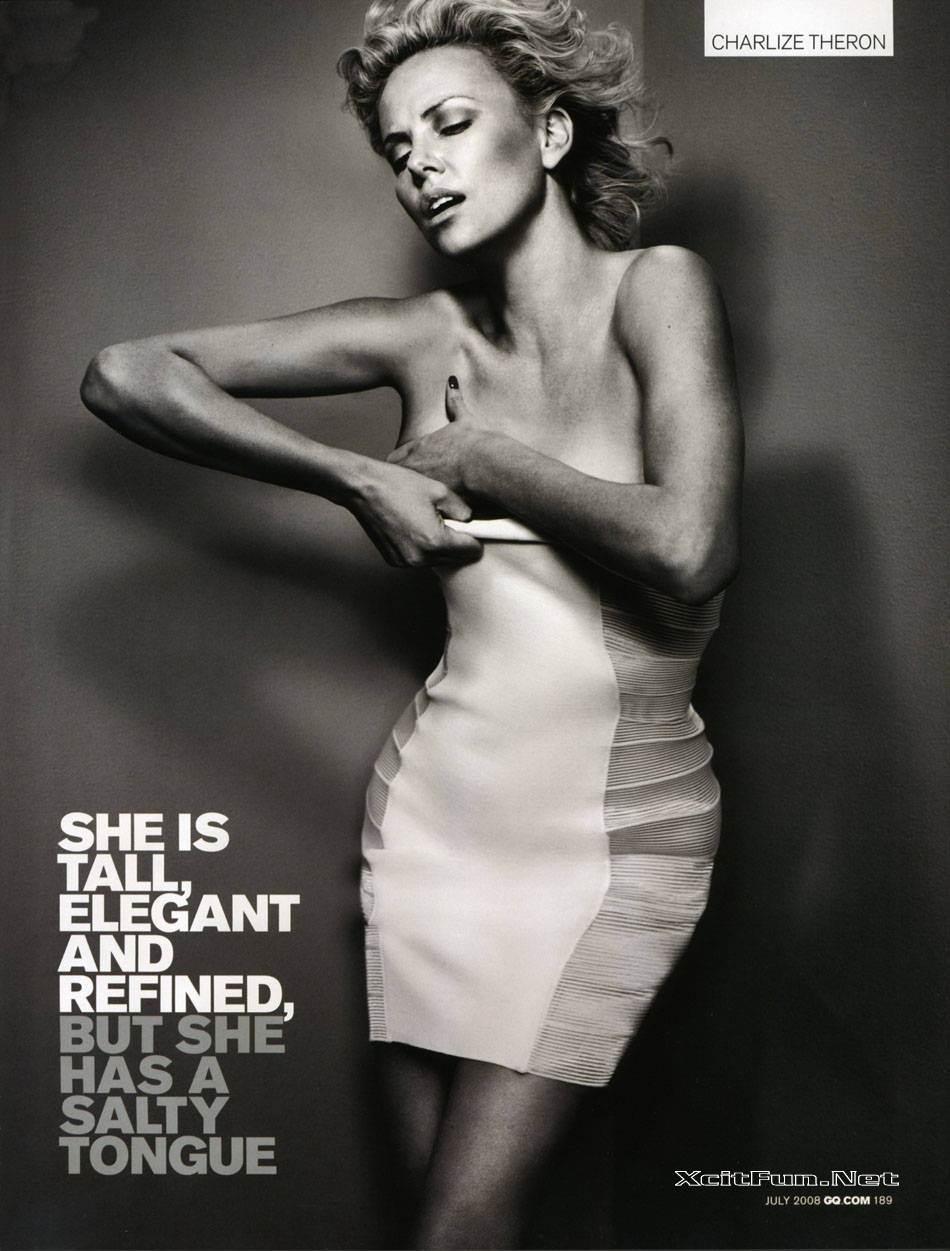 Charlize Theron Steal The Show of GQ Magazine July 2008 ...