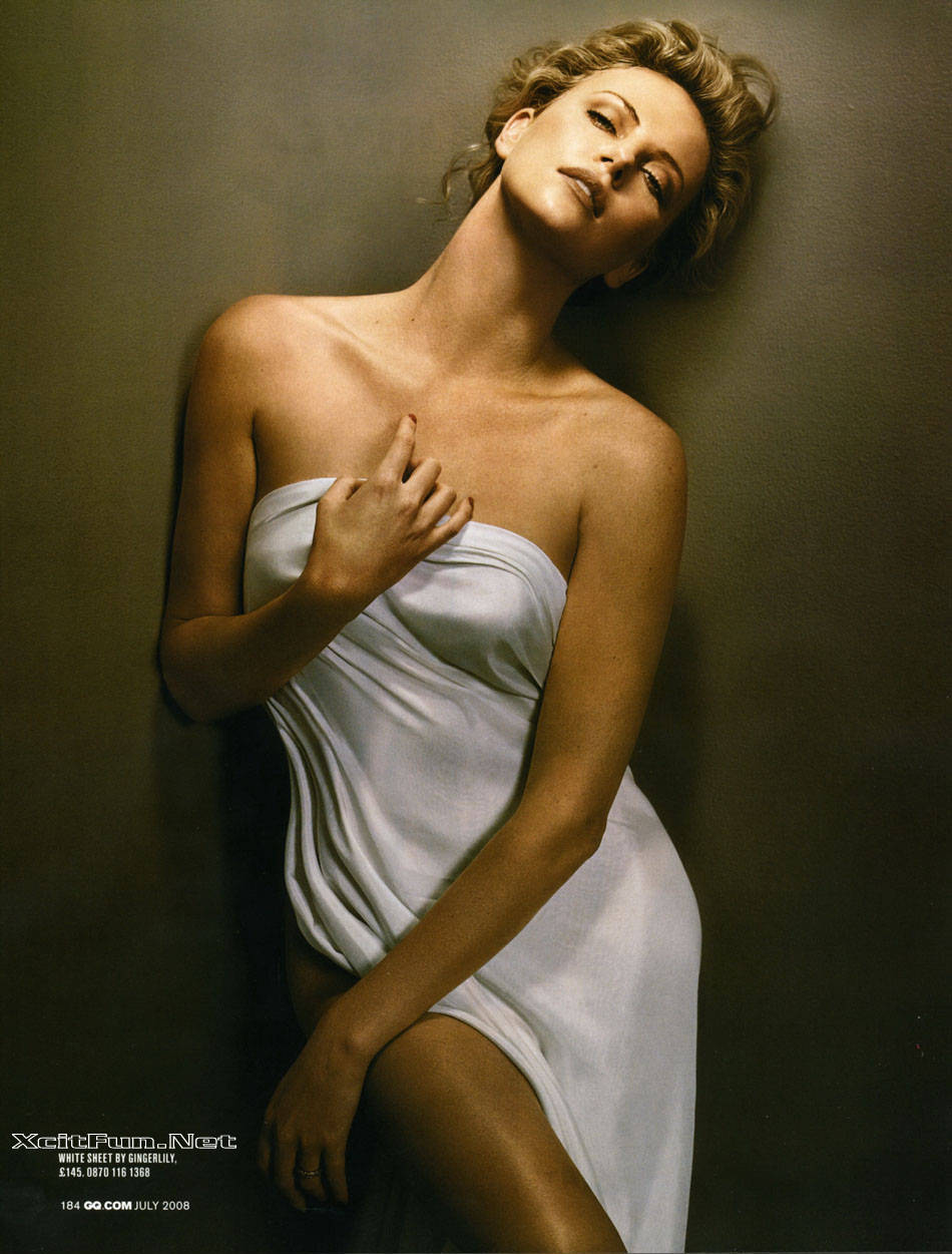 Charlize Theron Steal The Show of GQ Magazine July 2008