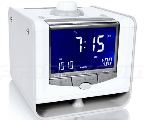 digital fm am radio with alarm clock and usb port. Black Bedroom Furniture Sets. Home Design Ideas