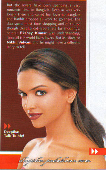 Deepika Padukone Leading From The Front at Stardust Magazine