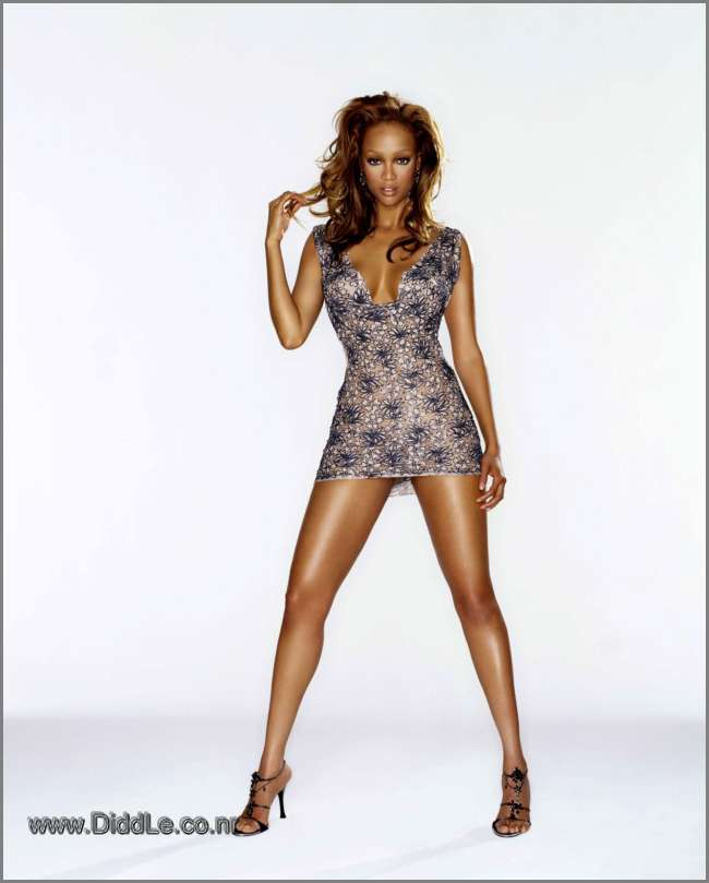 Tyra Banks / Barry Hollywood Shoot