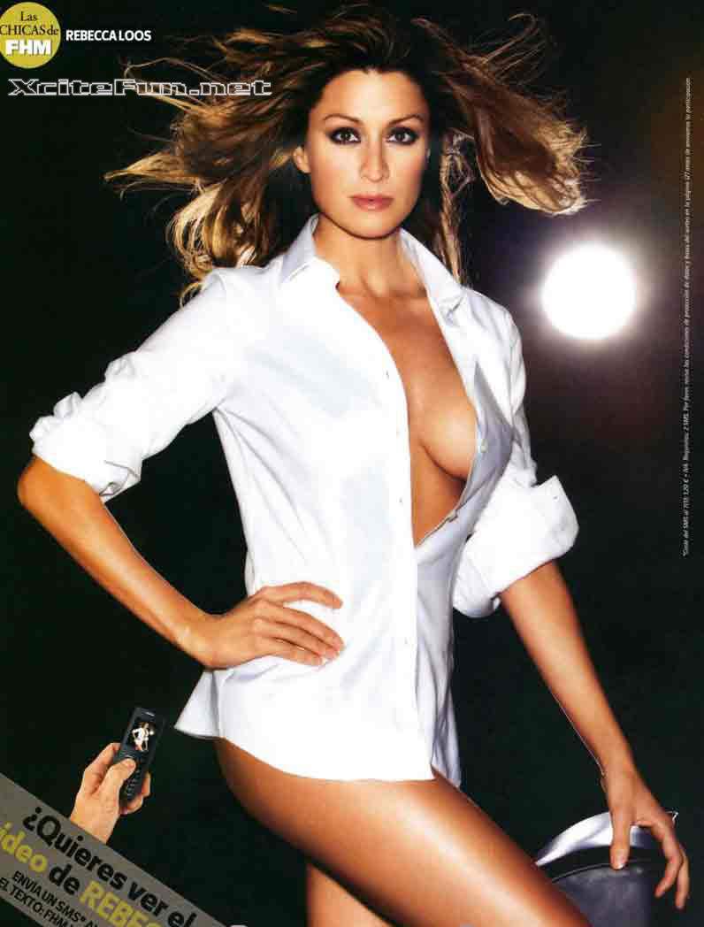 Quotes On Loss: Rebecca Loos Spanish Glamour Photo Shoot For FHM Espana