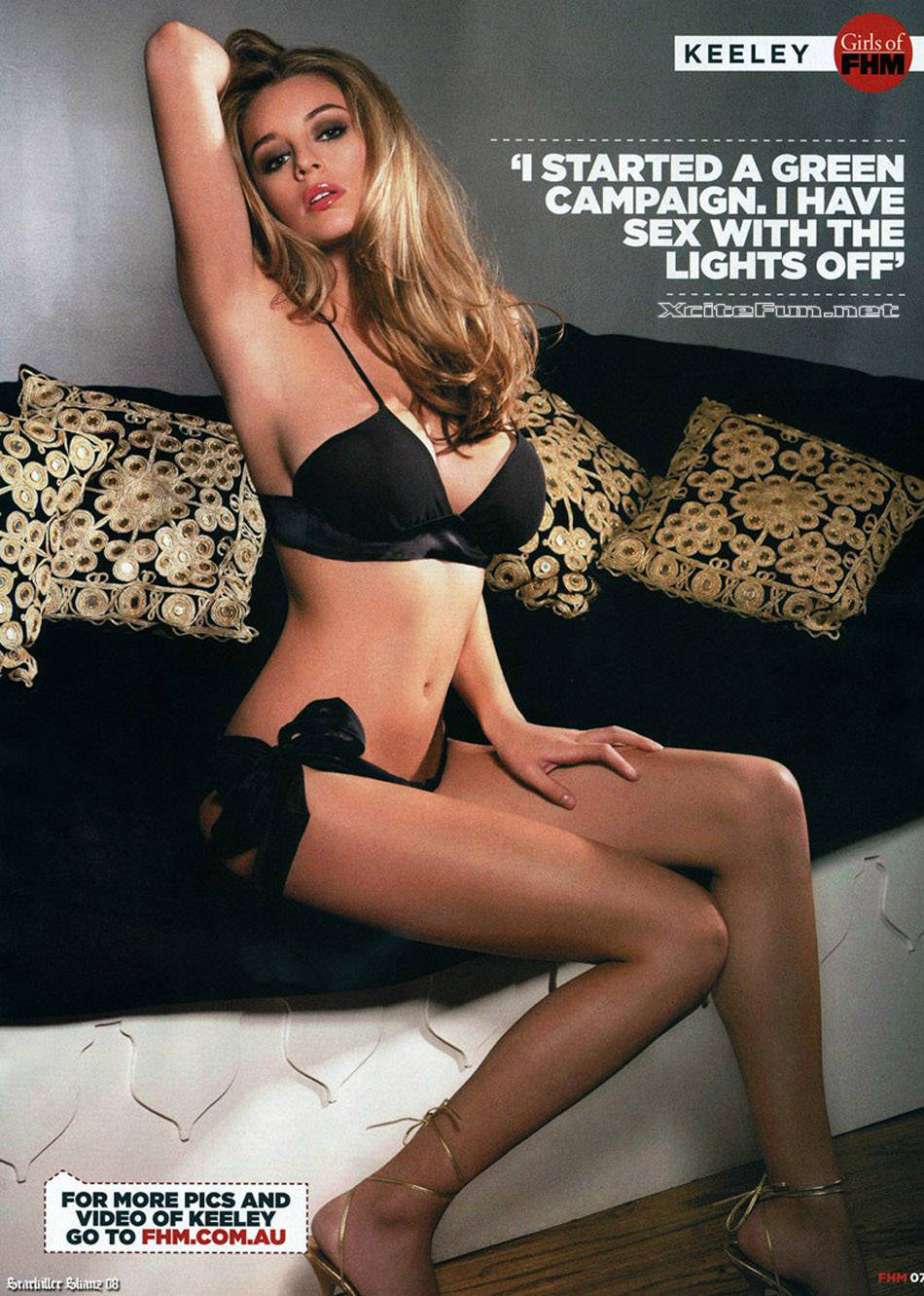 keeley hazell page 3 girl