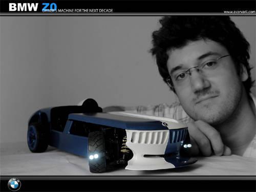 Bmw Z0 Hydrogen Concept Car 2008 Smallest Sports Car