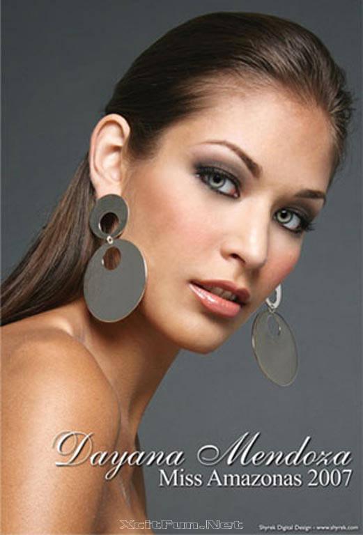 Miss Universe 2008 Dayana Mendoza Profile Hot Shots Video