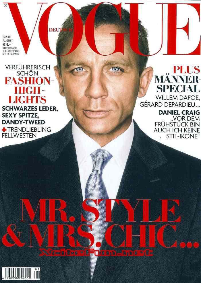 Daniel Craig: Current James Bond Photo Shoot For German ...