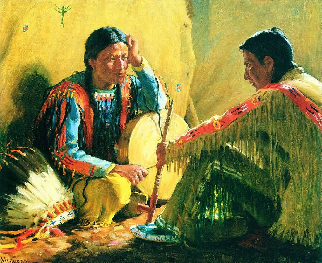 Native Americans in Portrates