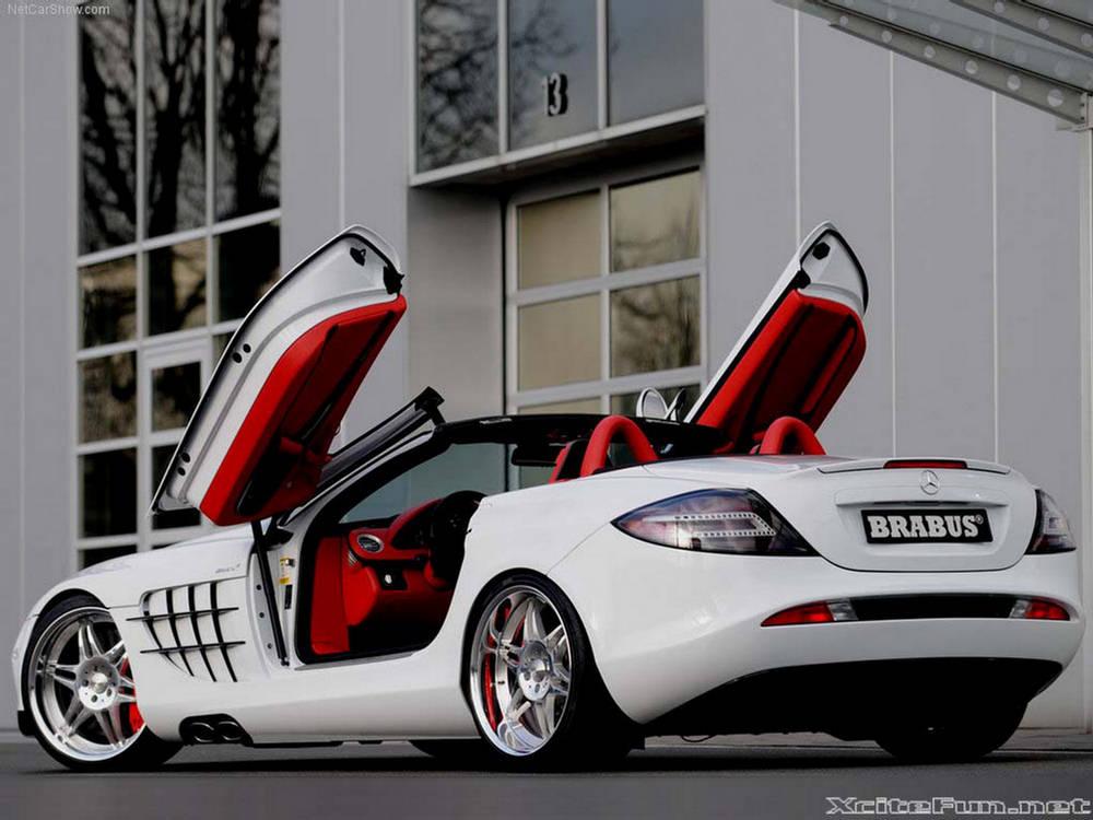 Фото Brabus SLR Roadster McLaren…