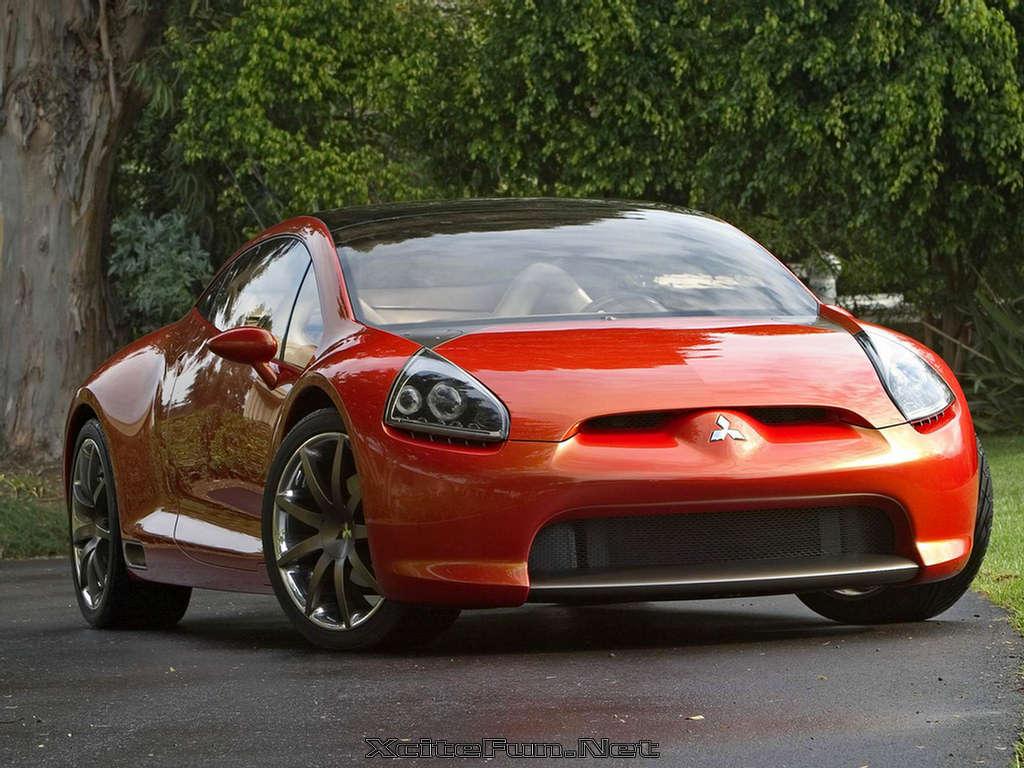 The Bubbly Styling Mitsubishi Eclipse Concep E