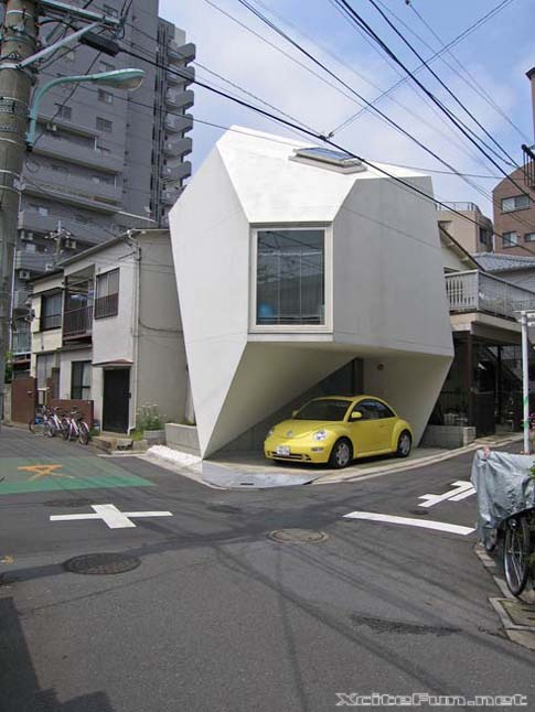 Great Architecture On Small Piece of Land In Japan
