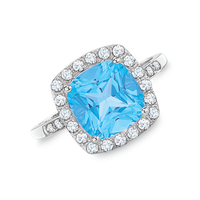 express yourself with the unique blue topaz rings