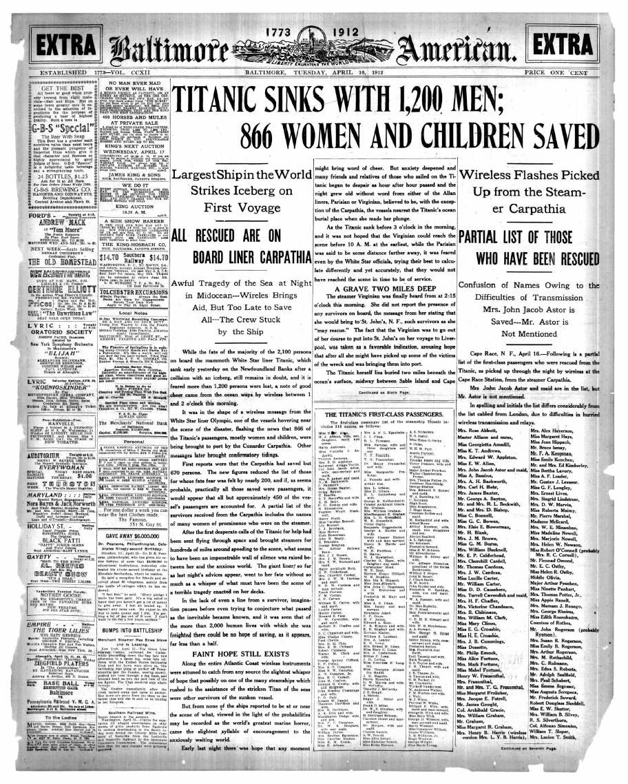 "the unsinkable ship essay Central idea: there are many different speculations of how the famous sinking of  the titanic occurred as well as what really caused the ""unsinkable ship"" to be."