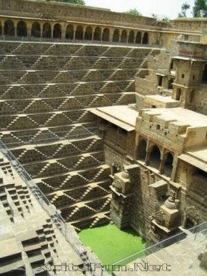 Chand Baori StepWell Rajasthan India  Amazing Architecture