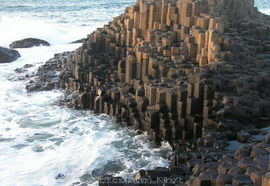 Giant's Causeway One of The Four Wonders of Great Britain