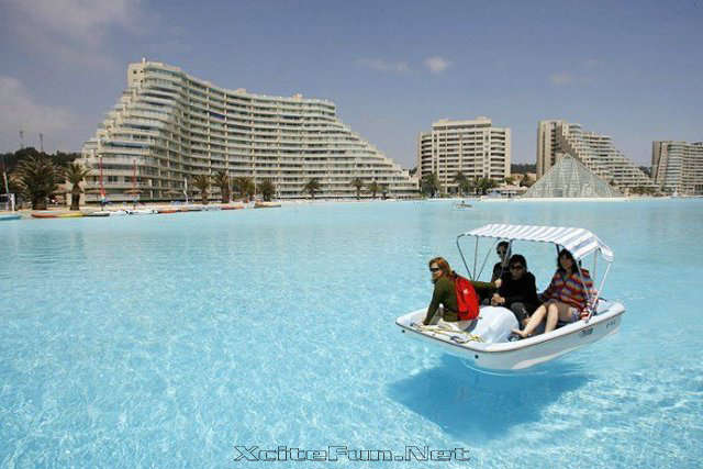 Hotel San Alfonso Del Mar Chile World 39 S Largest Swimming Pool In The World Virtual