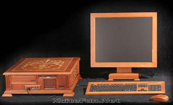 Wooden Computer: Incredible Piece of Technology-Art • XciteFun.net