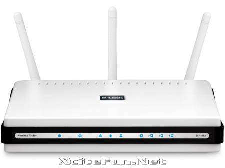 DLink DIR655 ADSL2 Router and Gigabit Network Switch