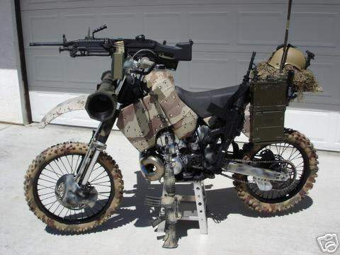 Motorcycles: The Ultimate Prepper Vehicles - Rustic Nut