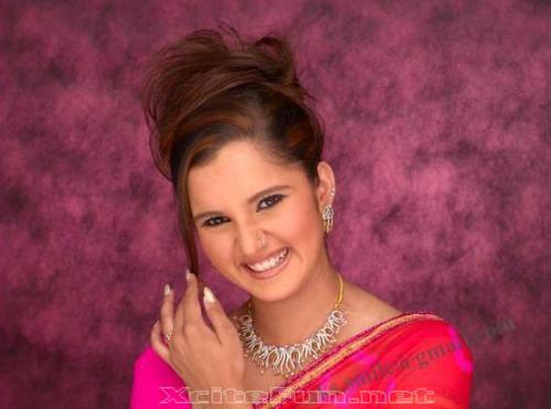 13922xcitefun sania mirza saree 1 - Sania Mirza