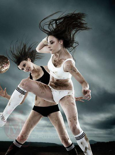 Better Way Auto >> Maxim Soccer Woman: Hot Chicks Kick Balls in Dirty Way ...