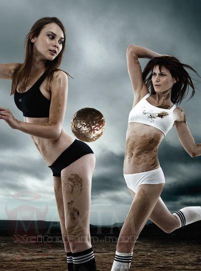 Better Way Auto >> Maxim Soccer Woman: Hot Chicks Kick Balls in Dirty Way - XciteFun.net