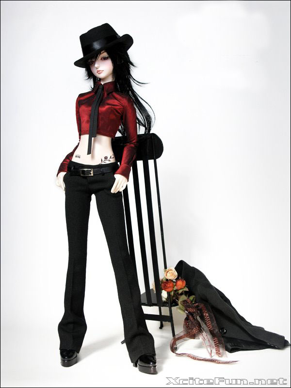 Elegant Gothic Fashion Dolls  Cool Collection
