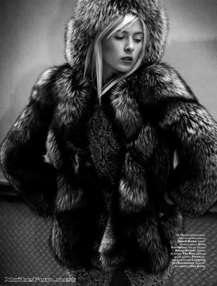 maria sharopova wallpaper. Maria Sharapova Hot Shots For Russian Vogue November 2008