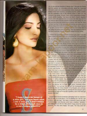 Sonam Kapoor: Photo Shoot From Stardust - Sonams Secrets