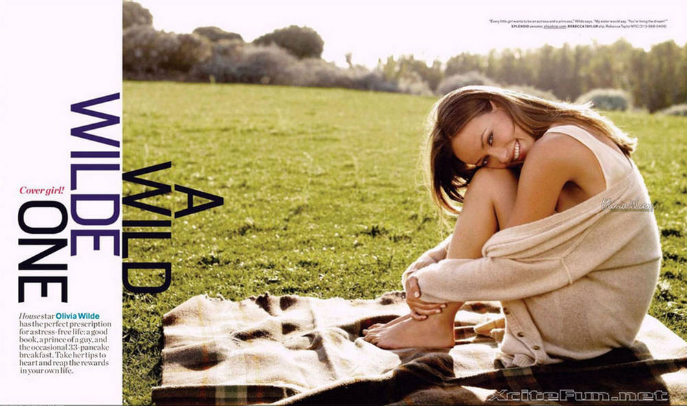 Olivia Wilde Juicy Article n Shots From Womens Health Mag
