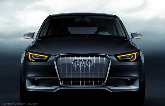audi a1 sportback hybrid 2009 pure electric automobile. Black Bedroom Furniture Sets. Home Design Ideas