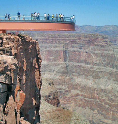 Grand canyon colorful steep sided gorge carved xcitefun