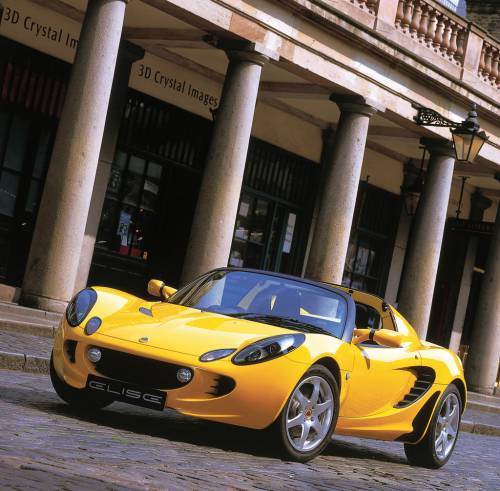 Lotus Elise Pint-Sized Sports Car 2009
