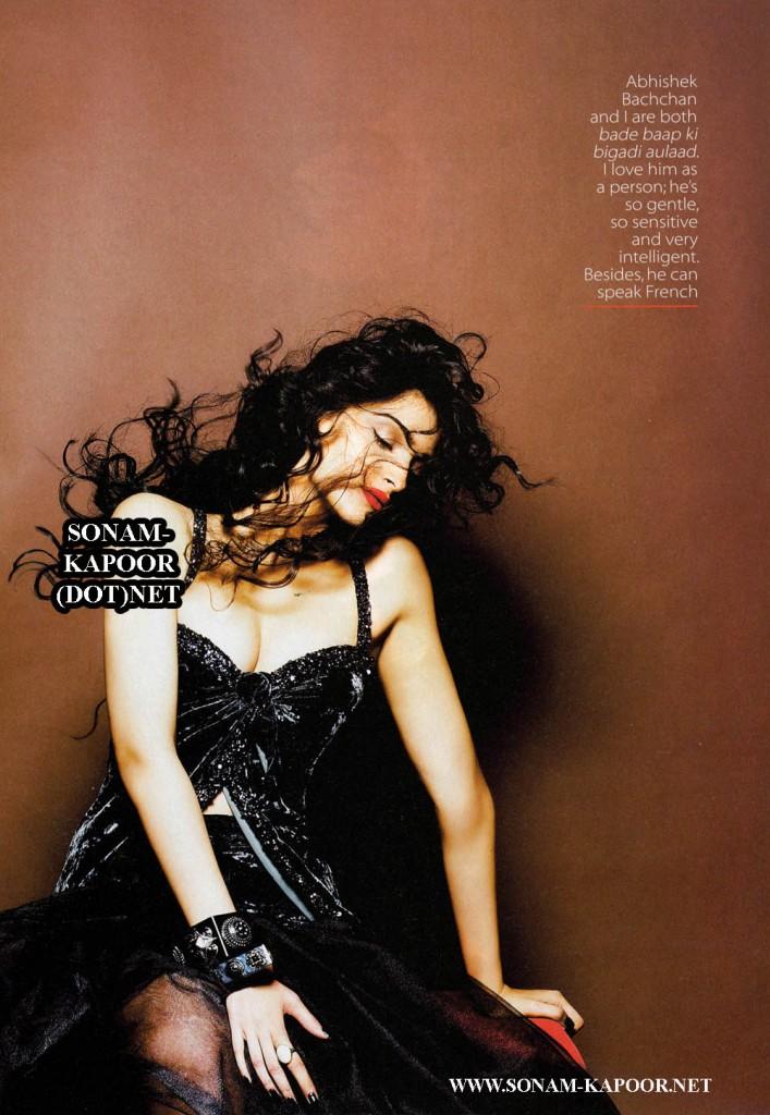 Sonam Kapoor Khoobsurat Cover Shoot - Vogue India