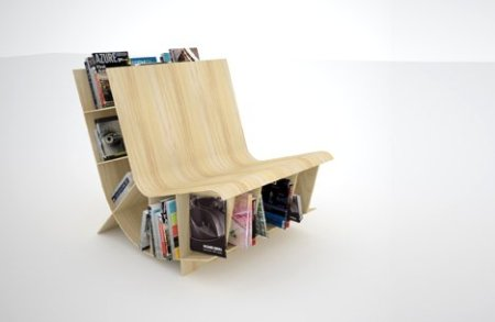 Home Interiors Zone: Most Unique and Creative Bookshelves - XciteFun.net