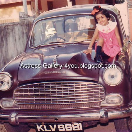 Asin Thottumkal Childhood Pictures The Growing Beauty