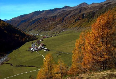 Melag  Melago Highest n Most Remote Village  Italy Europe