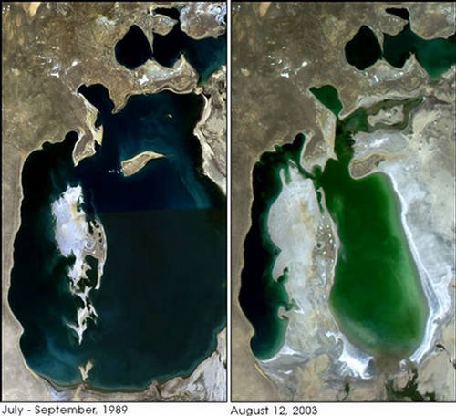 Lake Karachay Most Polluted Spot on Earth  Russia