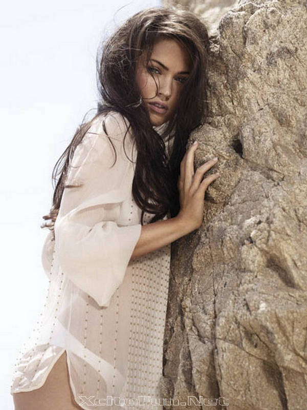 Megan Fox: Veritable Canvas - Don Flood Photo Shoot