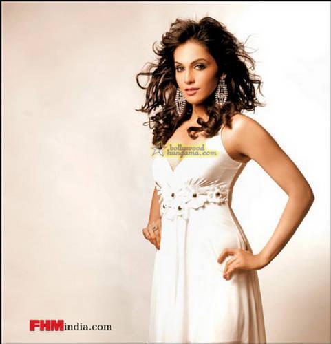 Eesha Koppikar Flashes At Camera  FHM Photo Shoot