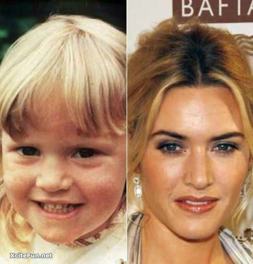 Hollywood Celebs in Childhood